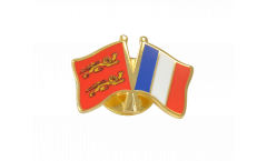Basse Normandie - France Friendship Flag Pin, Badge - 22 mm