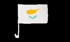Cyprus Car Flag - 12 x 16 inch