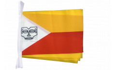 France French Polynesia Marquesas Islands Bunting Flags - 5.9 x 8.65 inch