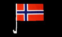 Norway Car Flag - 12 x 16 inch