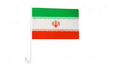 Iran Car Flag - 12 x 16 inch