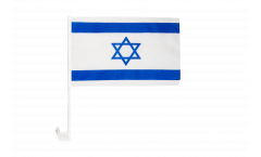 Israel Car Flag - 12 x 16 inch