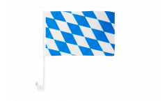 Germany Bavaria without crest Car Flag - 12 x 16 inch