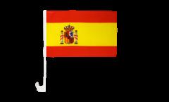 Spain Car Flag - 12 x 16 inch