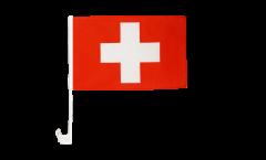 Switzerland Car Flag - 12 x 16 inch