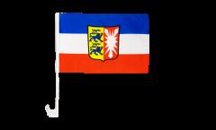 Germany Schleswig-Holstein Car Flag - 12 x 16 inch