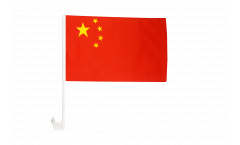 China Car Flag - 12 x 16 inch