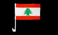 Lebanon Car Flag - 12 x 16 inch