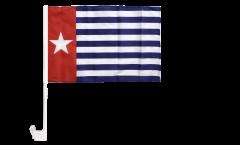 West Papua / Western New Guinea Car Flag - 12 x 16 inch