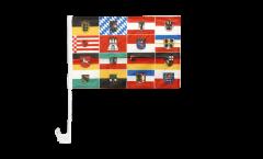 Germany 16 states Car Flag - 12 x 16 inch