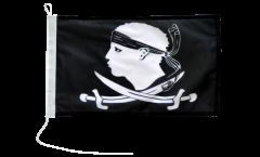 Pirate Corsica Boat Flag - 12 x 16 inch