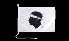 France Corsica Boat Flag - 12 x 16 inch