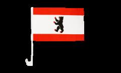 Germany Berlin Car Flag - 12 x 16 inch