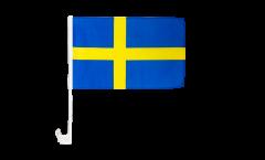 Sweden Car Flag - 12 x 16 inch