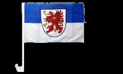 Germany West Pomerania Car Flag - 12 x 16 inch