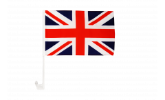Great Britain Car Flag - 12 x 16 inch