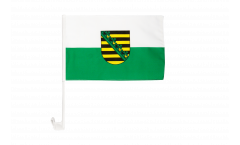 Germany Saxony Car Flag - 12 x 16 inch
