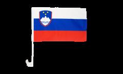 Slovenia Car Flag - 12 x 16 inch
