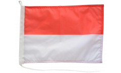 Indonesia Boat Flag - 12 x 16 inch