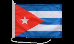 Cuba Boat Flag - 12 x 16 inch