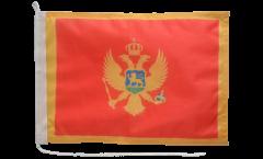 Montenegro Boat Flag - 12 x 16 inch