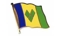 Saint Vincent and the Grenadines Flag Pin, Badge - 1 x 1 inch