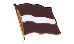 Latvia Flag Pin, Badge - 1 x 1 inch