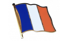 France Flag Pin, Badge - 1 x 1 inch