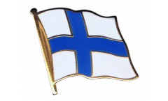 Finland Flag Pin, Badge - 1 x 1 inch