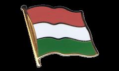 Hungary Flag Pin, Badge - 1 x 1 inch
