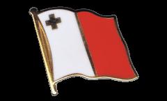 Malta Flag Pin, Badge - 1 x 1 inch