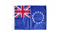 Cook Islands Boat Flag - 12 x 16 inch