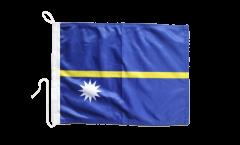 Nauru Boat Flag - 12 x 16 inch