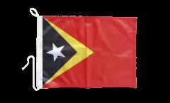 East Timor Boat Flag - 12 x 16 inch