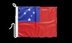 Samoa Boat Flag - 12 x 16 inch