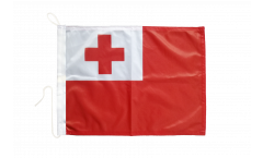Tonga Boat Flag - 12 x 16 inch