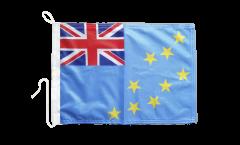 Tuvalu Boat Flag - 12 x 16 inch