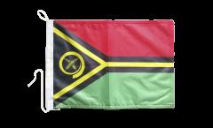Vanuatu Boat Flag - 12 x 16 inch