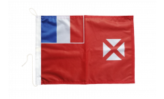 Wallis and Futuna Boat Flag - 12 x 16 inch