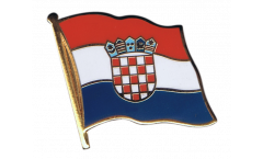 Croatia Flag Pin, Badge - 1 x 1 inch