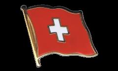 Switzerland Flag Pin, Badge - 1 x 1 inch