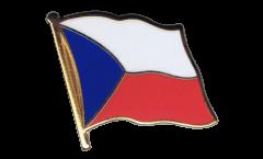 Czech Republic Flag Pin, Badge - 1 x 1 inch