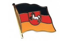 Germany Lower Saxony Flag Pin, Badge - 1 x 1 inch