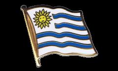 Uruguay Flag Pin, Badge - 1 x 1 inch