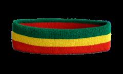 Ethiopia without crest, Rasta Headband / sweatband - 6 x 21cm