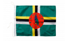 Dominica Boat Flag - 12 x 16 inch
