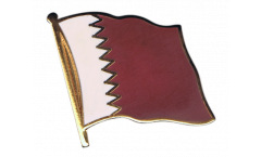 Qatar Flag Pin, Badge - 1 x 1 inch