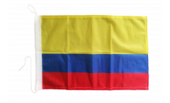 Colombia Boat Flag - 12 x 16 inch