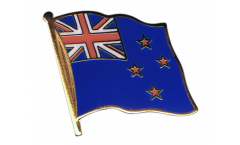New Zealand Flag Pin, Badge - 1 x 1 inch