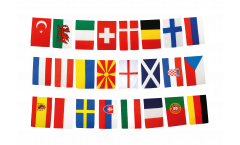 Football 2021 Bunting Flags - 5.9 x 8.65 inch